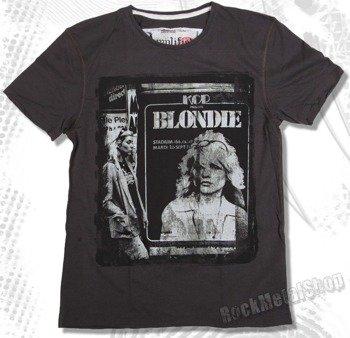 koszulka BLONDIE - POSTER szara