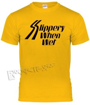 koszulka BON JOVI - SLIPPERY WHEN WET