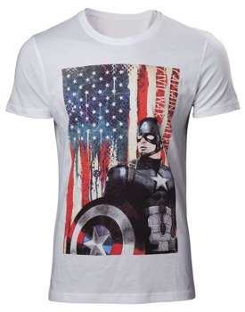 koszulka CAPTAIN AMERICA CIVIL WAR - AMERICAN FLAG