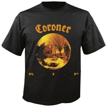 koszulka CORONER - R.I.P
