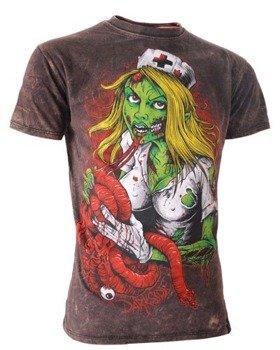 koszulka DARKSIDE - NURSE, barwiona