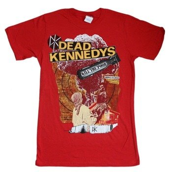 koszulka DEAD KENNEDYS - KILL THE POOR