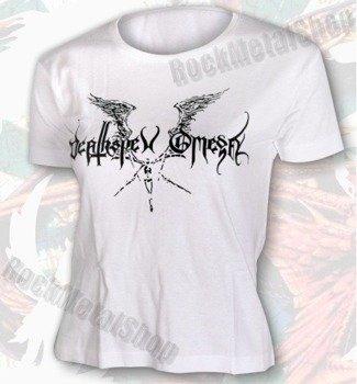 koszulka DEATHSPELL OMEGA - LOGO biała
