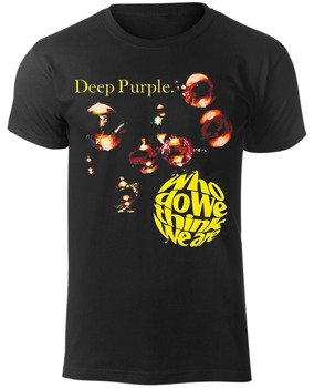 koszulka DEEP PURPLE - WHO DO WE THINK WE ARE