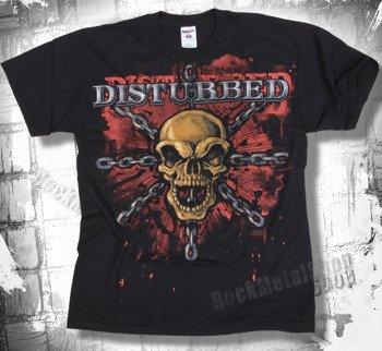 koszulka DISTURBED - SKULL