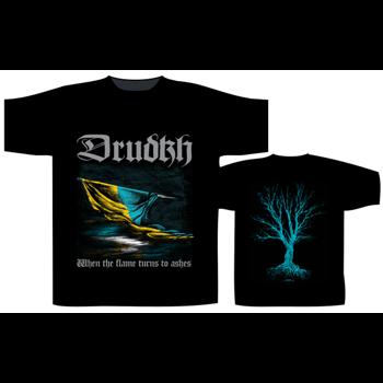 koszulka DRUDKH - WHEN THE FLAME TURNS TO ASHES