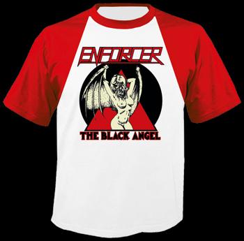 koszulka ENFORCER - THE BLACK ANGEL