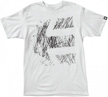koszulka ETNIES - SCRIBBLER (WHITE) 09'