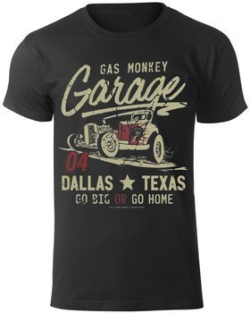 koszulka GAS MONKEY GARAGE - GO BIG OR GO HOME