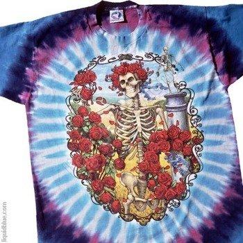 koszulka GRATEFUL DEAD - 30TH ANNIVERSARY barwiona