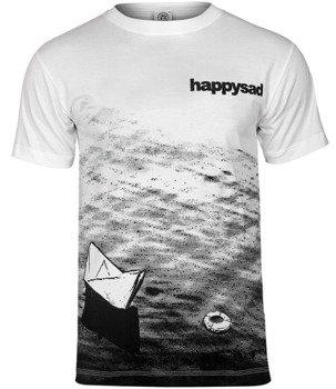 koszulka HAPPYSAD - TAKA WODĄ BYĆ biała