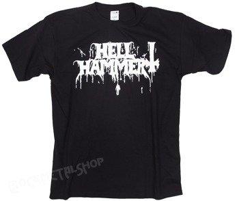 koszulka HELLHAMMER - DRIPPING LOGO