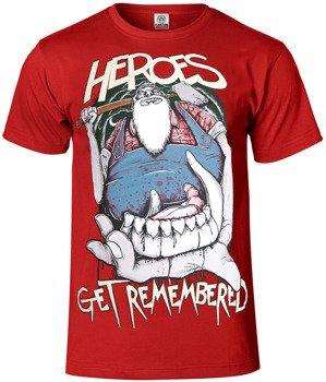 koszulka HEROES GET REMEMBERED - LUMBERJACK