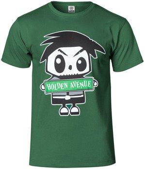 koszulka HOLDEN AVENUE zielona