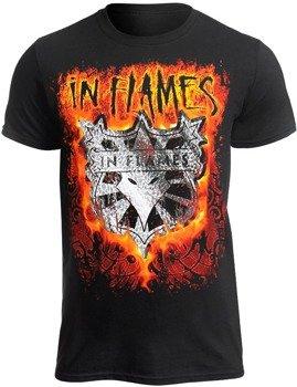 koszulka IN FLAMES - SHIELD IN FLAMES