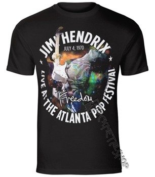 koszulka JIMI HENDRIX - ATLANTA POP FESTIVAL 1970