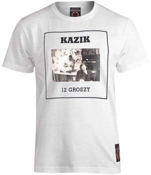 koszulka KAZIK - 12 GROSZY BIAŁA