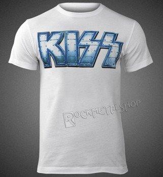 koszulka KISS - LOGO WHITE