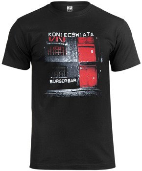 koszulka KONIEC ŚWIATA - BURGERBAR