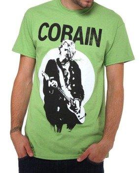 koszulka KURT COBAIN - STANDING GUITAR PHOTO