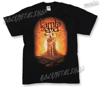 koszulka LAMB OF GOD - BURNING HAND