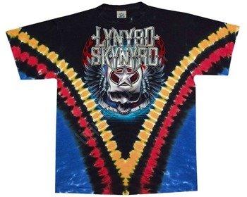 koszulka LYNYRD SKYNYRD - DOUBLE TROUBLE barwiona