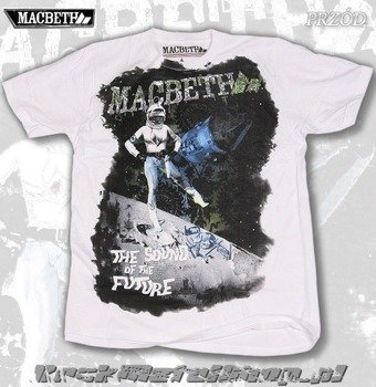 koszulka MACBETH - SOUND OF THE FUTURE (WHITE)