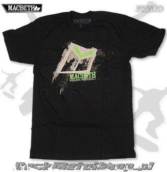 koszulka MACBETH - VEGAN LOGO (BLACK)
