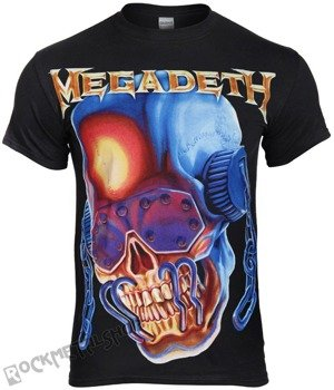 koszulka MEGADETH - CHAIN HEADPHONE