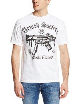 koszulka METAL MULISHA - ARMED N READY biała