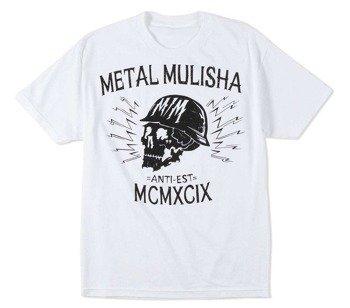koszulka METAL MULISHA - BLACK HEAD biała