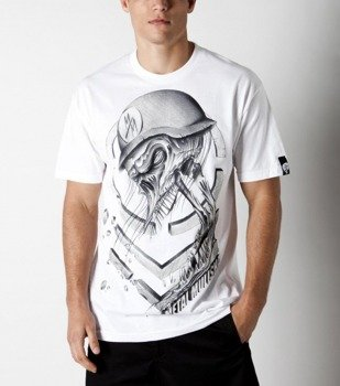 koszulka METAL MULISHA - BROKEN biała