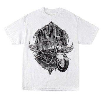 koszulka METAL MULISHA - DEAD RIDE biała