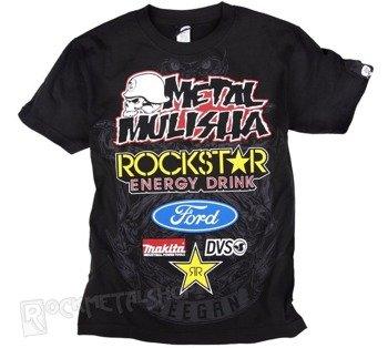 koszulka METAL MULISHA - DEEGAN OFFROAD czarna