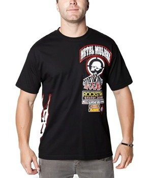 koszulka METAL MULISHA - DEEGAN RACE czarna