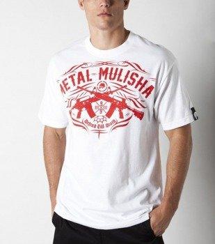 koszulka METAL MULISHA - DEFENSIVE biała