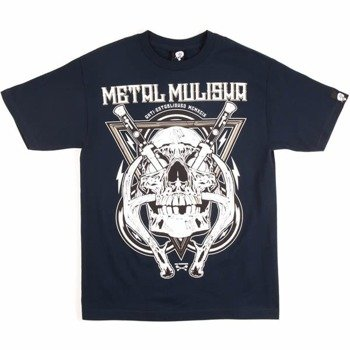 koszulka METAL MULISHA - HYDRO74-SWITCH navy