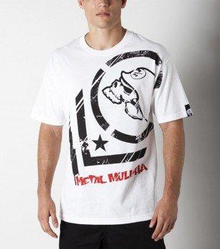 koszulka METAL MULISHA - PUNCTURED biała