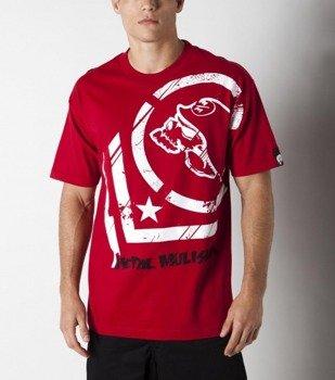 koszulka METAL MULISHA - PUNCTURED czerwona