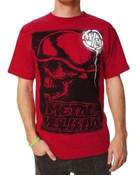 koszulka METAL MULISHA - RISE UP czerwona