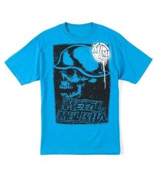 koszulka METAL MULISHA - RISE UP niebieska