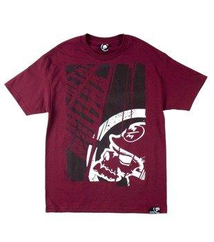 koszulka METAL MULISHA - TITLE wiśniowa