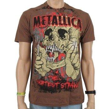 koszulka METALLICA - BROWN STRAW