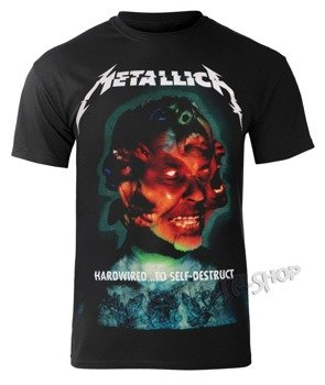 koszulka METALLICA - HARDWIRED ALBUM COVER