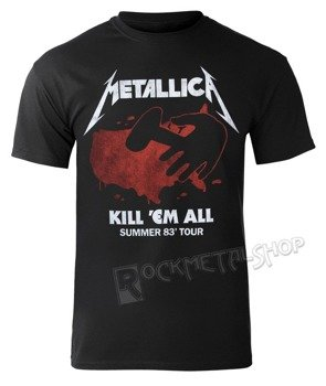 koszulka METALLICA - KILL EM ALL TOUR