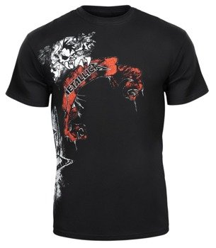 koszulka METALLICA - SKULL RED