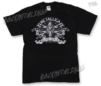 koszulka METALLICA - WORLD MAGNETIC TOUR 2008-2009