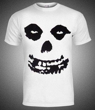 koszulka MISFITS - SKULL biała