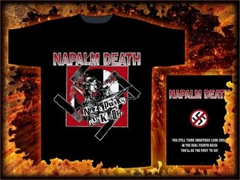 koszulka NAPALM DEATH - NAZI PUNKS