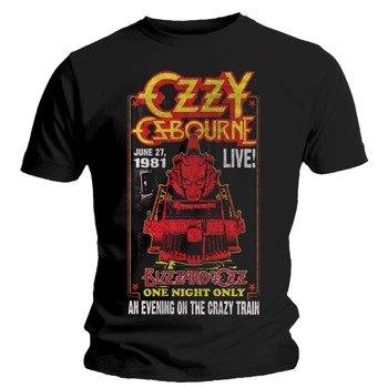 koszulka OZZY OSBOURNE - CRAZY TRAIN